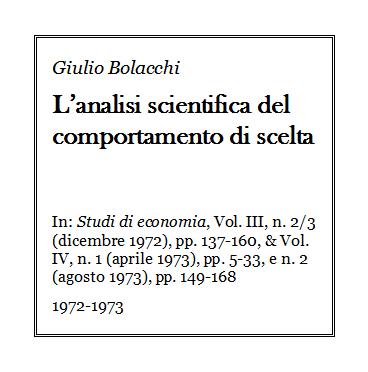 Giulio Bolacchi - L