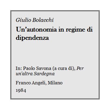 Giulio Bolacchi - Un