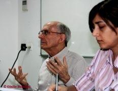 Giulio Bolacchi e Rosanna Farci in aula